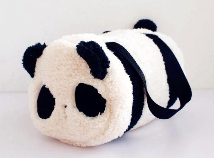 Sac polochon panda kawaii